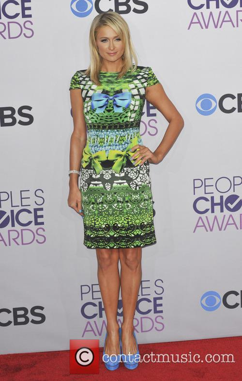 Paris Hilton and People's Choice Awards 11