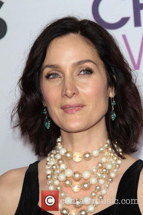 Carrie Anne Moss and Annual People's Choice Awards 1