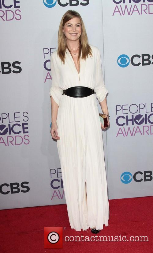 Ellen Pompeo and Annual People's Choice Awards 10