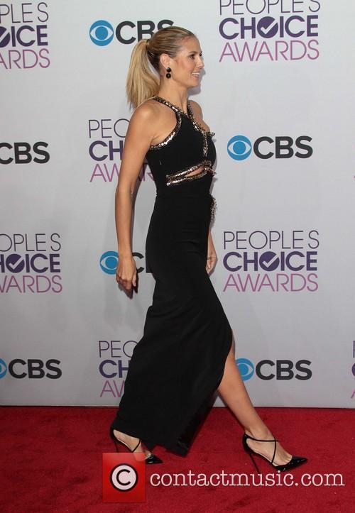Heidi Klum and Annual People's Choice Awards 2