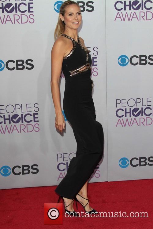 Heidi Klum and Annual People's Choice Awards 4