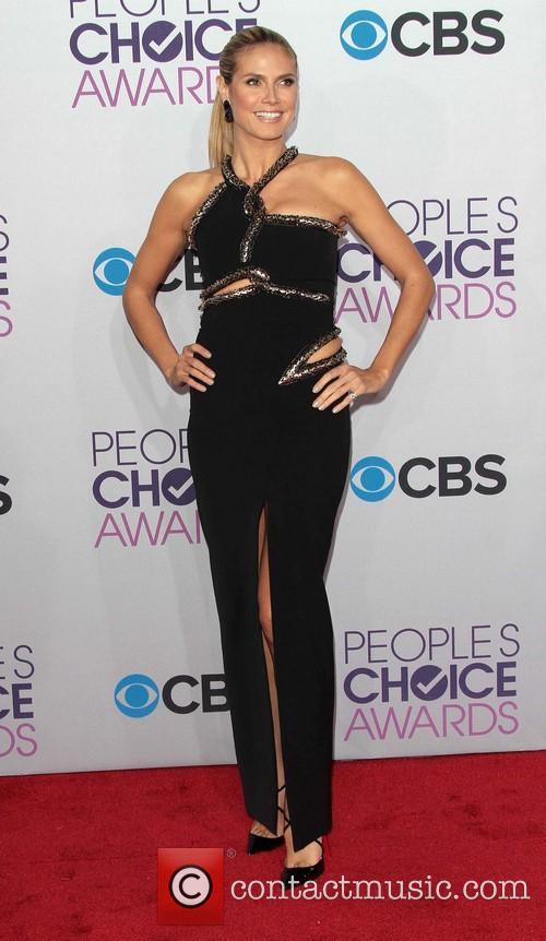 Heidi Klum and Annual People's Choice Awards 3