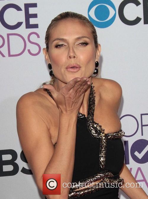 Heidi Klum and Annual People's Choice Awards 6