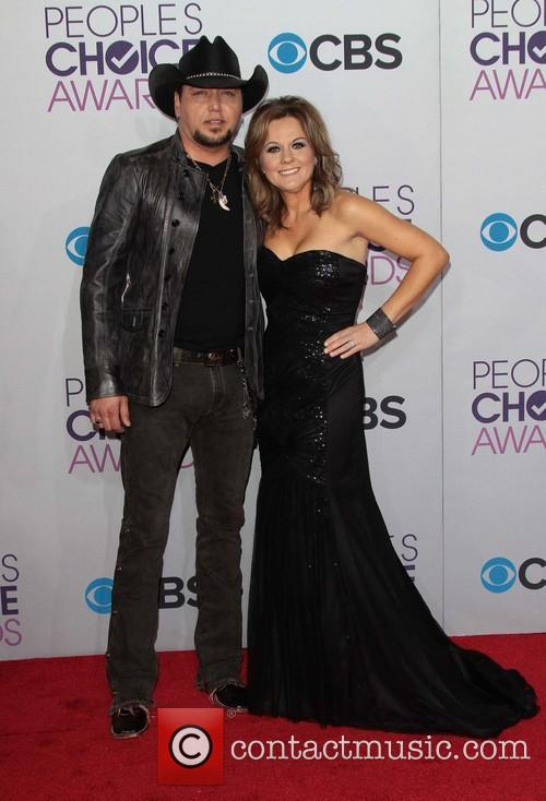 Jason Aldean, Jessica Aldean and Annual People's Choice Awards 8