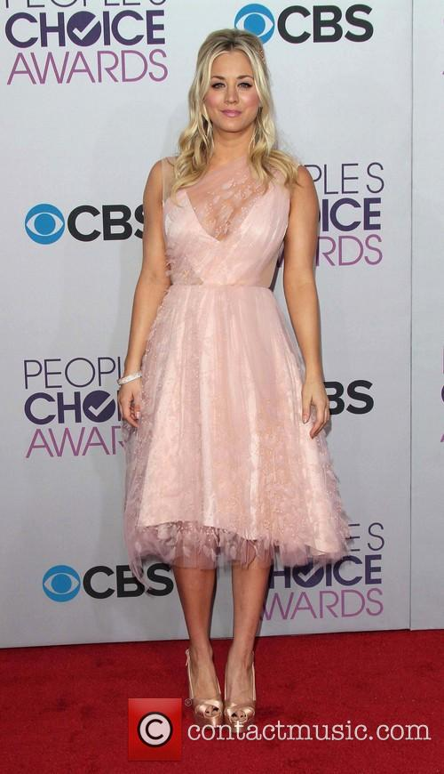 Kaley Cuoco and Annual People's Choice Awards 8