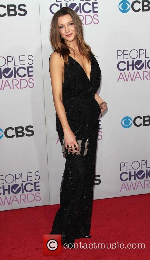 Katie Cassidy and Annual People's Choice Awards 4