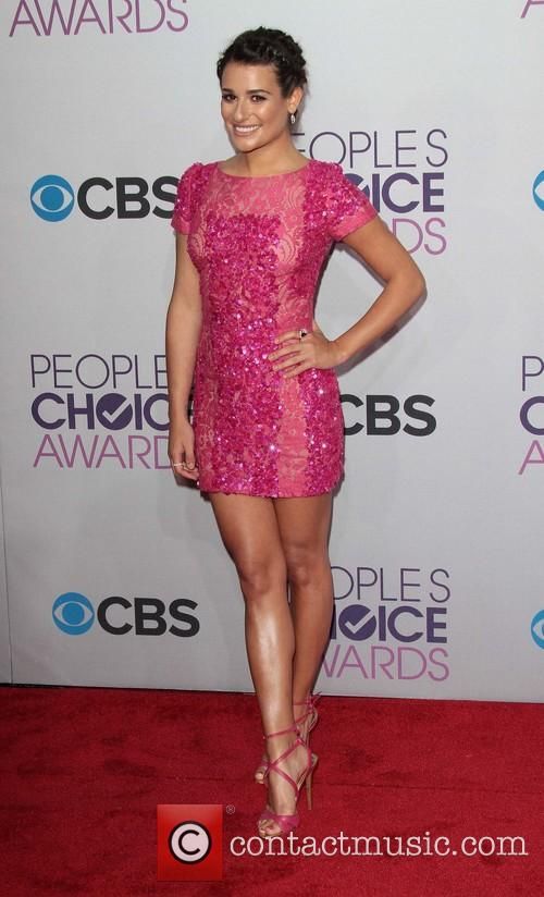 Lea Michele and Annual People's Choice Awards 1