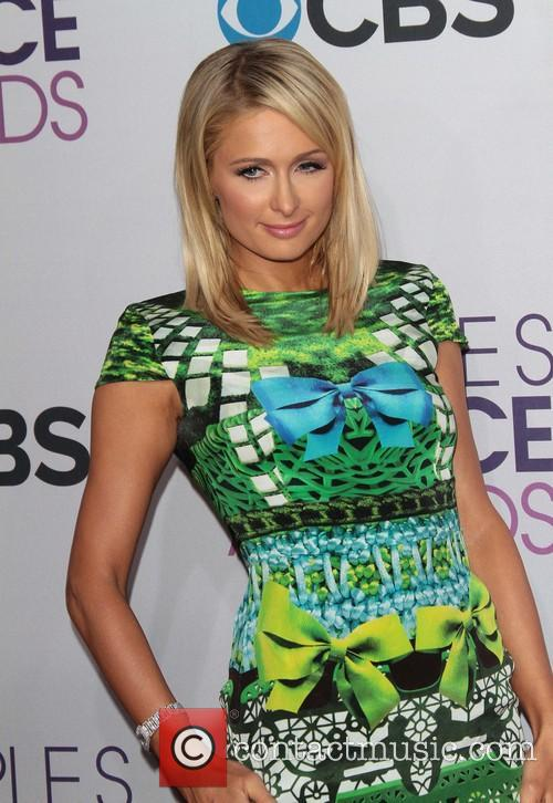 Paris Hilton and Annual People's Choice Awards 1