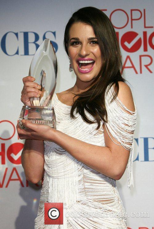 Lea Michele and People's Choice Awards 4