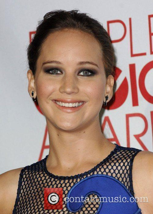 Jennifer Lawrence and People's Choice Awards 4