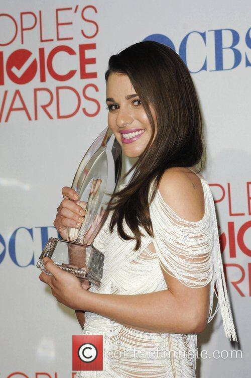 Lea Michele and People's Choice Awards 16