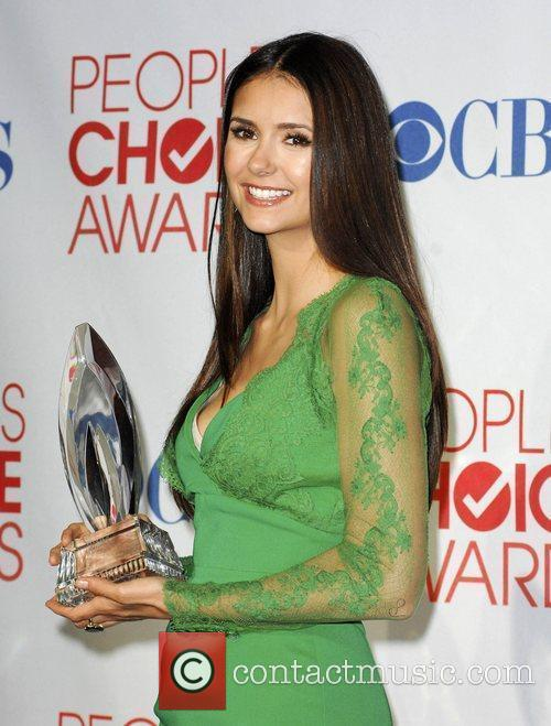 Nina Dobrev and People's Choice Awards 9