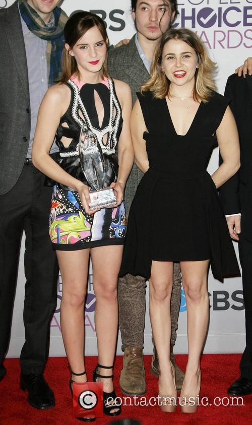 Emma Watson, Mae Whitman, People's Choice Awards