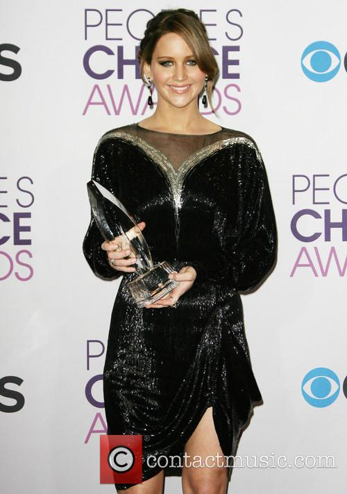 Jennifer Lawrence and People's Choice Awards 7