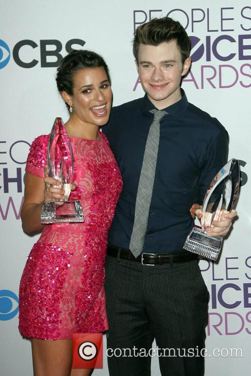 Lea Michele, Chris Colfer and People's Choice Awards 8