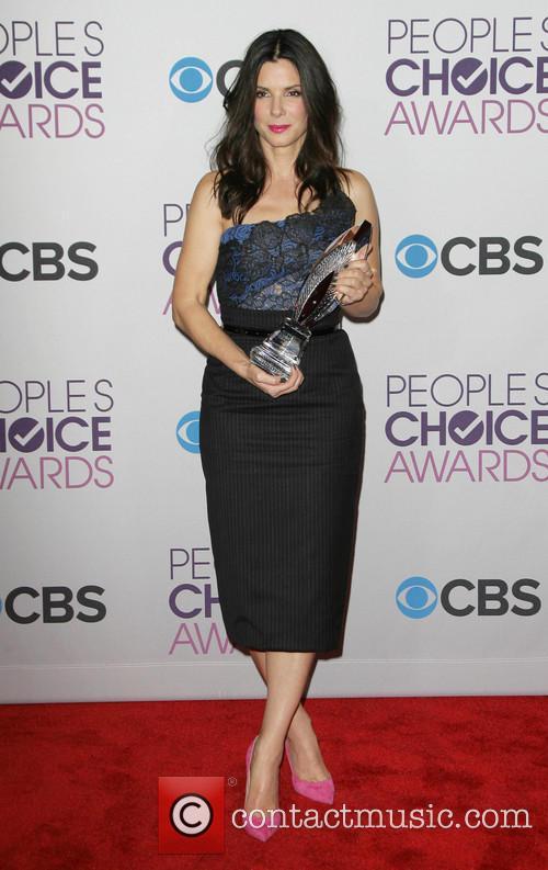 Sandra Bullock and People's Choice Awards 11