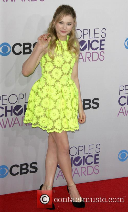 Chloe Moretz, Chloe Grace Moretz and Annual People's Choice Awards 2