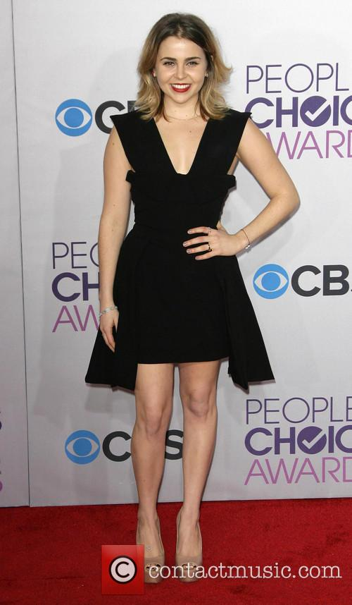 Mae Whitman and Annual People's Choice Awards 2