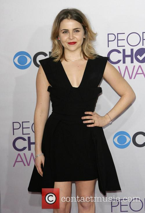 Mae Whitman and Annual People's Choice Awards 3