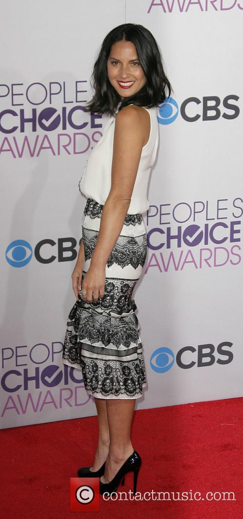 Olivia Munn and Annual People's Choice Awards 4
