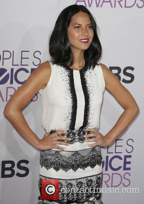 Olivia Munn and Annual People's Choice Awards 2