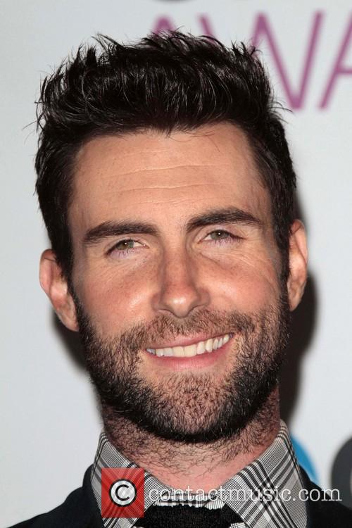 Adam Levine and Annual People's Choice Awards 1