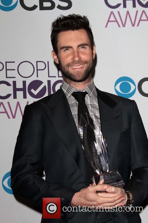 Adam Levine and Annual People's Choice Awards 2