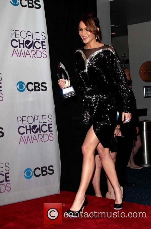 Jennifer Lawrence and Annual People's Choice Awards 4
