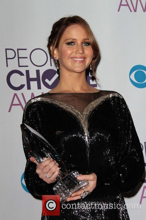 Jennifer Lawrence and Annual People's Choice Awards 6