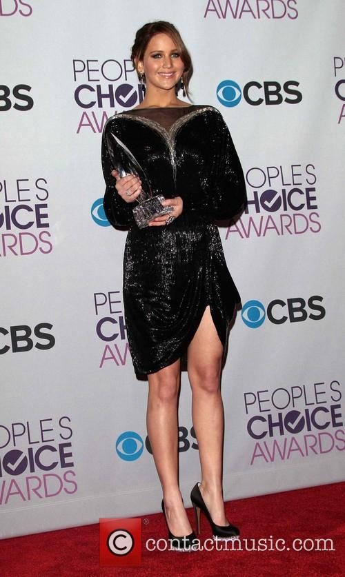 Jennifer Lawrence and Annual People's Choice Awards 10