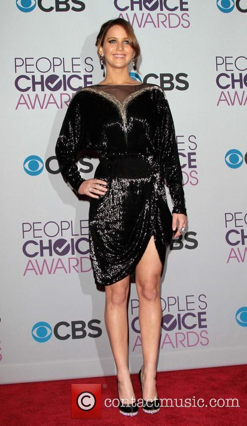 Jennifer Lawrence and Annual People's Choice Awards 9