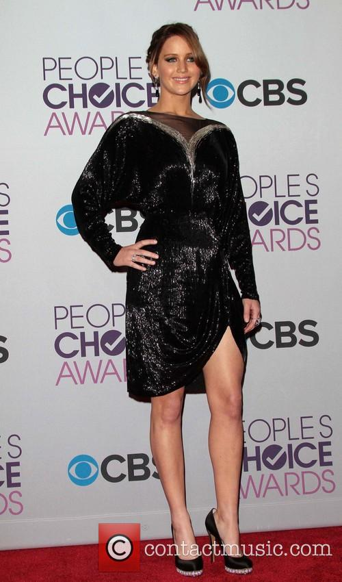 Jennifer Lawrence and Annual People's Choice Awards 12