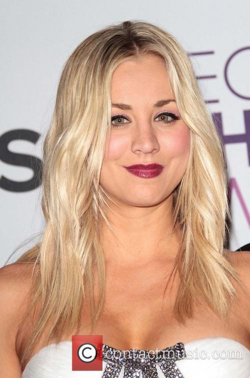 Kaley Cuoco and Annual People's Choice Awards 2