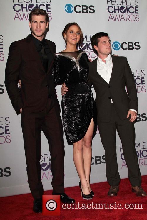 Liam Hemsworth, Jennifer Lawrence, Josh Hutcherson and Annual People's Choice Awards 2