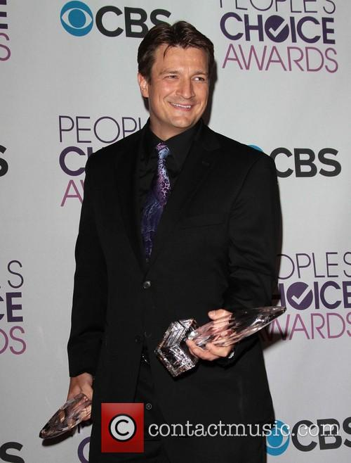 Nathan Fillion and Annual People's Choice Awards 3