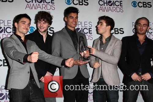 Nathan Sykes, Siva Kaneswaran, Max George, Tom Parker, Jay Mcguiness, The Wanted and Annual People's Choice Awards 3