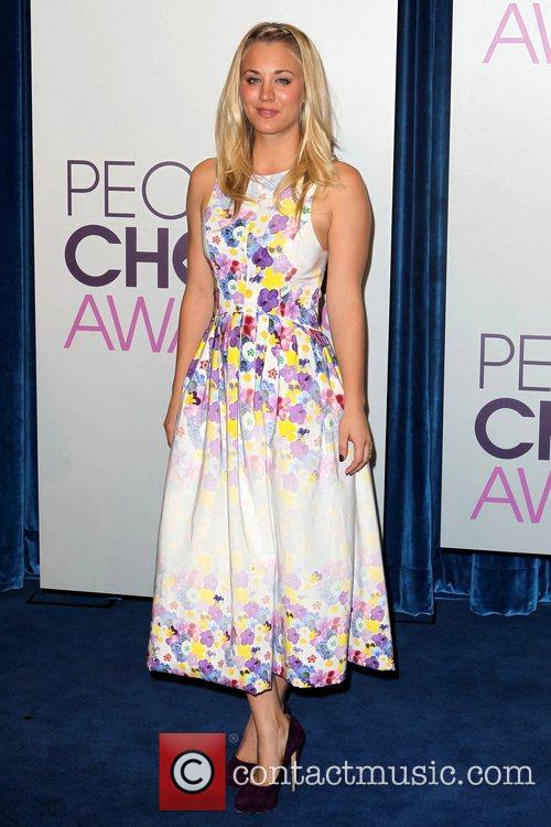 Kaley Cuoco and People's Choice Awards 2