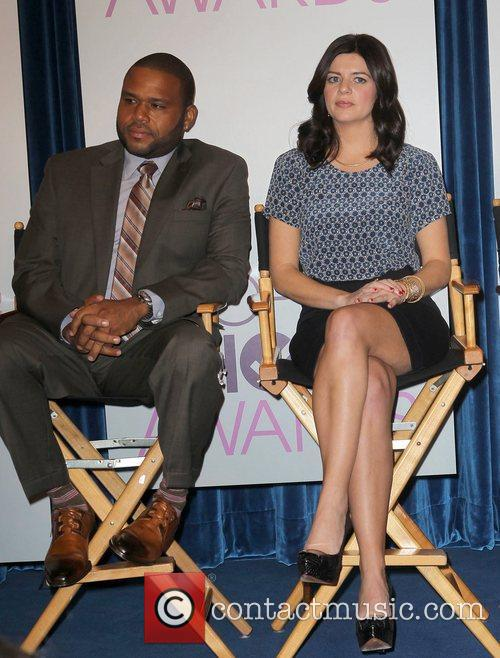Anthony Anderson, Casey Rose Wilson The 2013 People's...