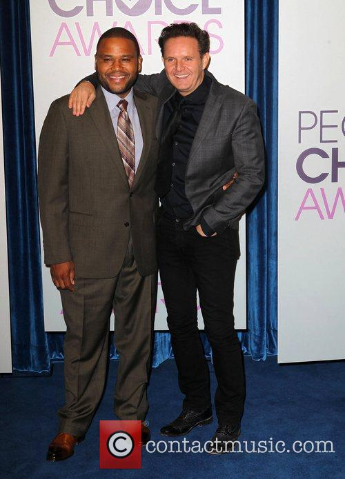 Anthony Anderson, Mark Burnett The 2013 People's Choice...