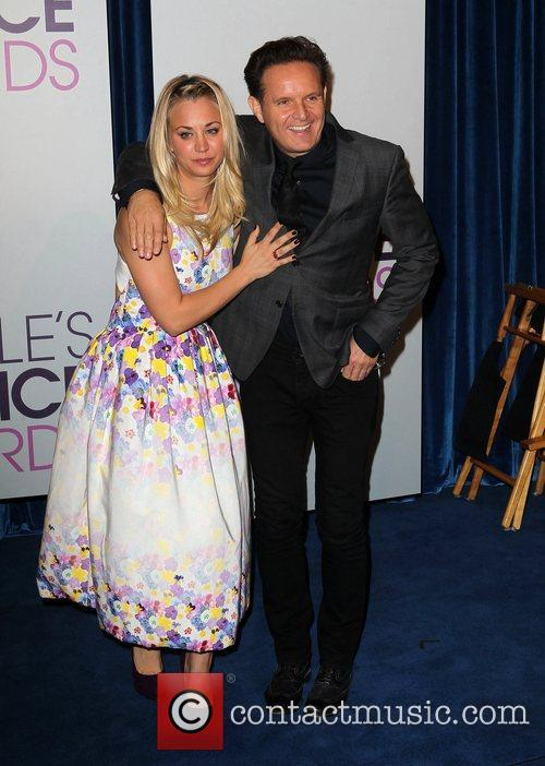Kaley Cuoco, Mark Burnett The 2013 People's Choice...