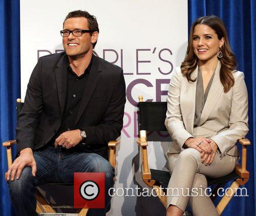 Jason O'Mara and Sophia Bush People's Choice Awards...