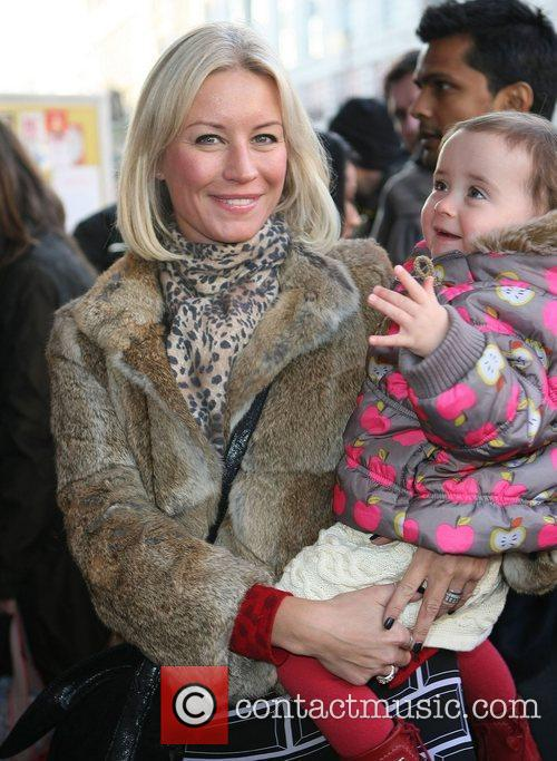 Denise van Outen with her daughter Betsy Celebrity...