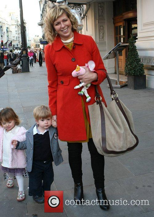 Kate Garraway with her son Billy Celebrity Gala...