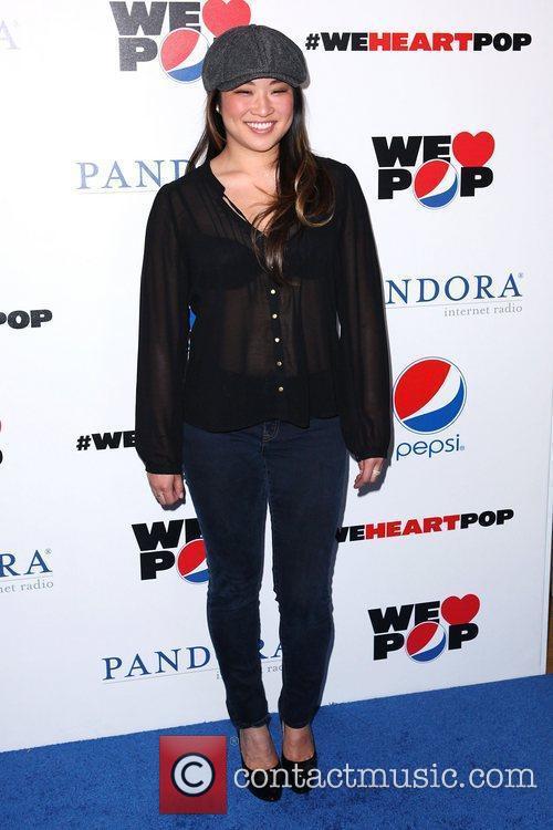 Jenna Ushkowitz and Grammy 1