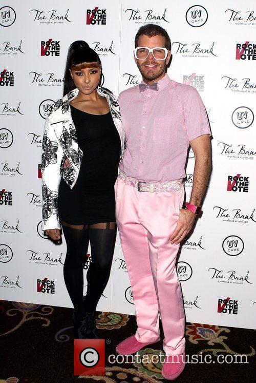 Katerina Graham, Perez Hilton and The Bank Nightclub 2