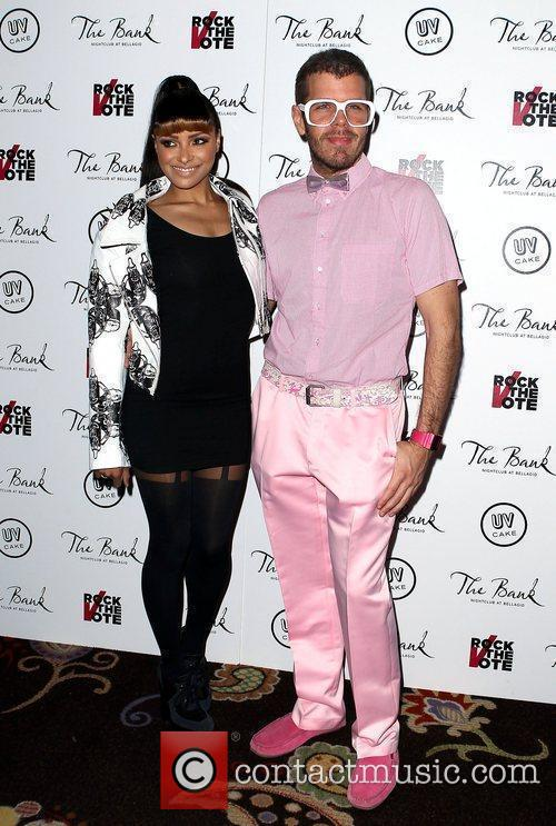 Katerina Graham, Perez Hilton and The Bank Nightclub 9