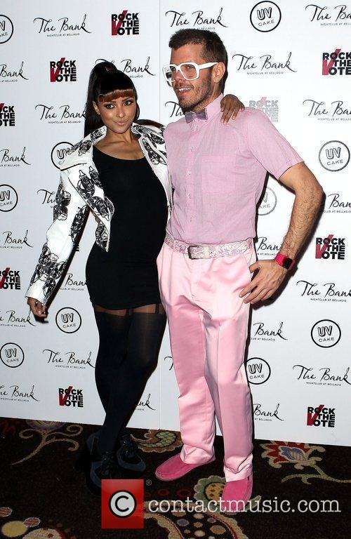 Katerina Graham, Perez Hilton and The Bank Nightclub 3