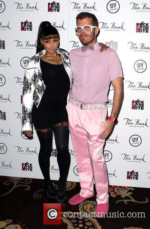 Katerina Graham, Perez Hilton and The Bank Nightclub 4
