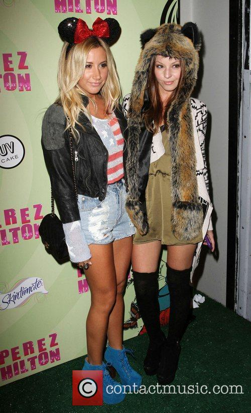 Ashley Tisdale, Samantha Droke Perez Hilton's Mad Hatter...