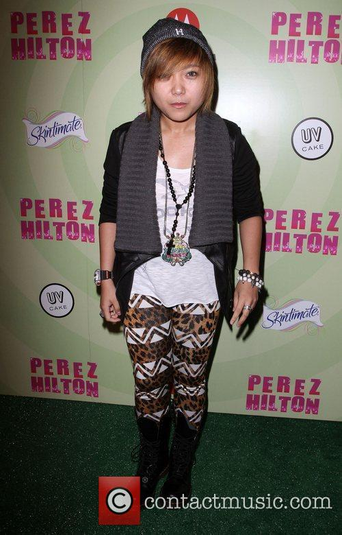 Charice Perez Hilton's Mad Hatter Tea Party Birthday...